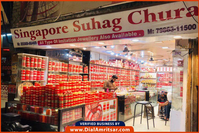 Singapore Suhag Chura Dial Amritsar Local Shops